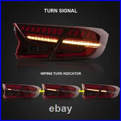 LED Tail Lights For Honda Accord 10th Gen 2018-2020 Start-up Animation Rear Lamp