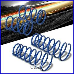 Manzo Blue 4PCS Coil Lowering Springs Kit For 04-08 TSX CL9/03-07 Accord 7th Gen