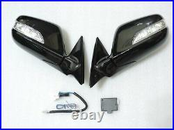 NEWAutoPower Folding Mirrors With wiring for HONDA ACCORD 08 12 8th Gen