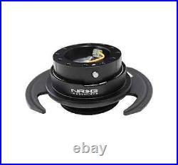 NRG GEN 3.0 Steering Wheel QUICK RELEASE KIT with Shift Paddle (BLACK)