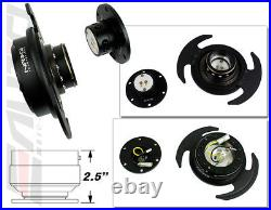 NRG Steering Wheel Hub + Black Gen3 Quick Release + Matt Lock Civic Accord CL