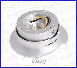 NRG Universal GEN 2.5 QUICK RELEASE KIT (SILVER BODY & SILVER RING)