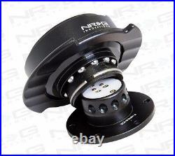 NRG Universal GEN 2.5 QUICK RELEASE KIT WITH BLACK BODY & BLACK RING