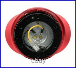 NRG Universal QUICK RELEASE GEN 2.2 BLACK BODY & RED RING (SRK-220BK-RD)