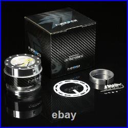 Nrg 130h Hub+carbon Gen 1.5 Quick Release+leather Suede Steering Wheel Black