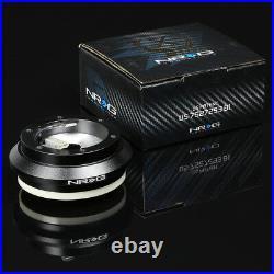 Nrg 130h Hub+iridium Gen 3.0 Quick Release+3dish Leather Steering Wheel Black