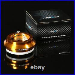 Nrg Rosegold Steering Wheel Hub+gen 1.5 Quick Release Titanium For S2k Prelude