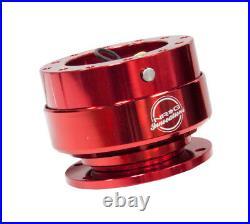 Nrg Steering Wheel Gen 2.0 Quick Release Adaptor Kit Red