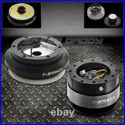 Nrg Steering Wheel Hub+gen 2.0 Black Quick Release 92-95 Civic/prelude/integra