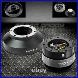 Nrg Steering Wheel Short Srs Clock Spring Resistor+gen 2.0 Black Quick Release