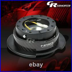 Nrg Universal Steering Wheel Quick Release Adaptor Gen 2.5 Carbon Fiber Ring