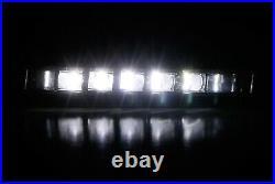 OEM Spec White LED Fog Light Kit with Bezel, Wiring For 2016-17 Honda Accord Sedan