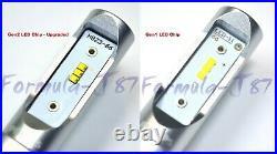 Philips Ultinon LED G2 6000K White 9005 HB3 Two Bulbs Head Light High Beam Fit