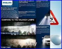 Philips Ultinon LED G2 6500K White 9005 HB3 Two Bulbs Light DRL Daytime Lamp Kit