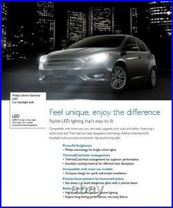 Philips Ultinon LED G2 6500K White H8 Two Bulbs Fog Light Replace Upgrade Lamp