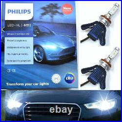 Philips Ultinon LED G2 White H11 Two Bulbs Fog Light Replacement Upgrade Stock