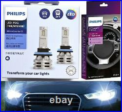 Philips White LED G2 Fan Canceller H11 Fog Light Two Bulbs Replace OE Fit Lamp