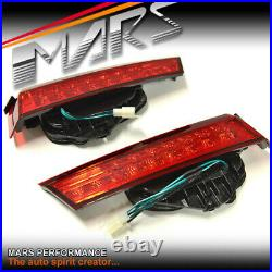 Red LED Boot Trunk Tail Lights for Honda Accord 8th Gen Sedan 08-13 Tail gate