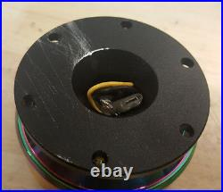 SALE NRG Gen 2.0 Steering Wheel Quick Release Hub Black Body / NEO Chrome Ring