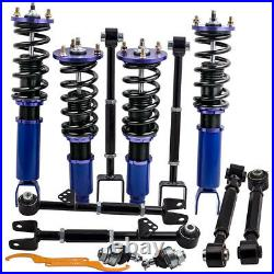 Suspension Kit Spring Coilover & Control Arm Ball Joints for Honda ACCORD 08-12