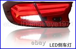Tenth Generation For Accord G10 LED Strip Tail Lights 2017-2019 year Red
