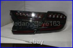Tenth Generation LED Strip Tail Light For Accord G10 LED rear lights smoke black